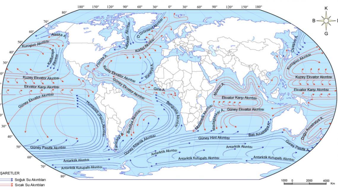 Okyanus Akıntıları Nedir ?